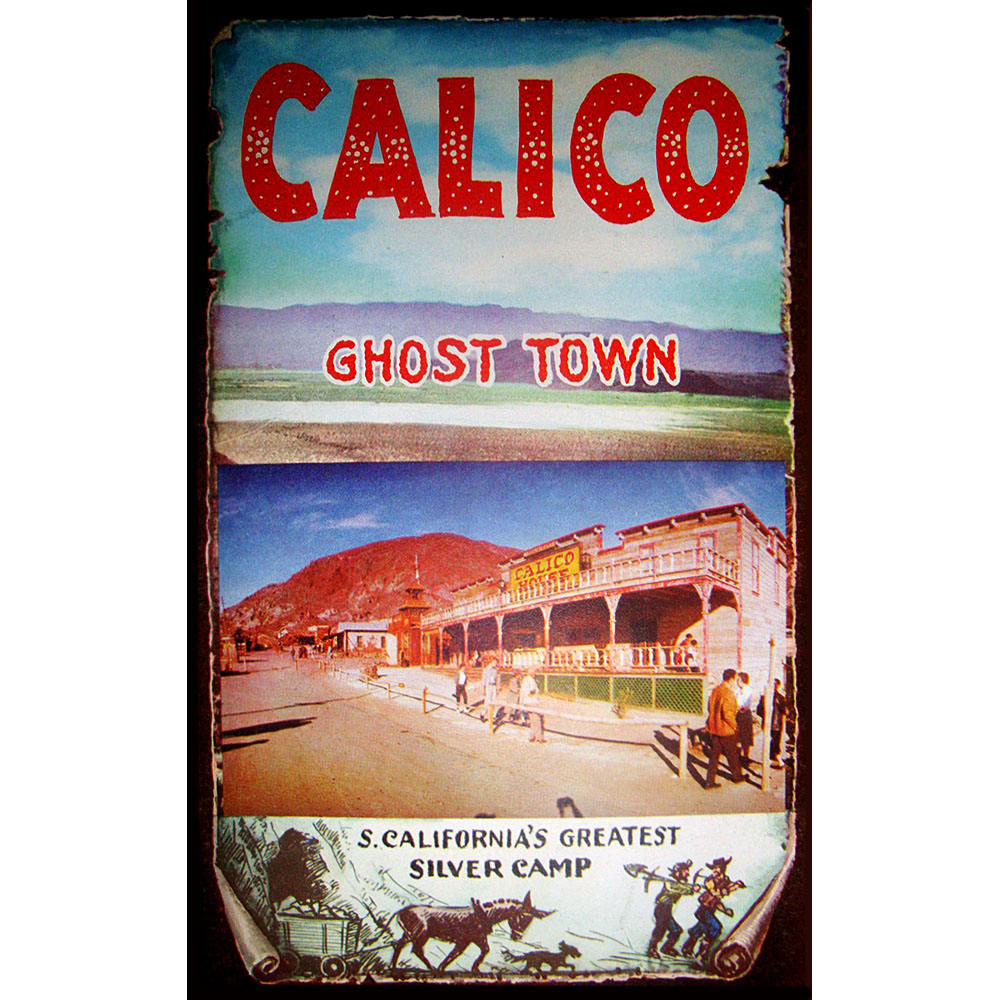 Calico Ghost Town Brochure