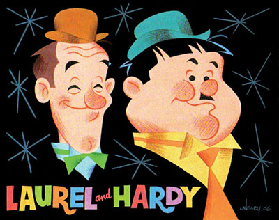 Laurel and Hardy Cartoon