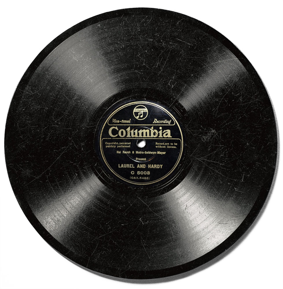"""Laurel and Hardy""/""Dance of the Cuckoos"" on Columbia Records"