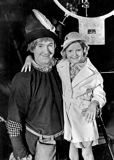 Stan and Lois Laurel