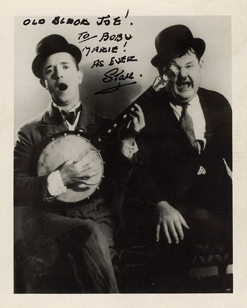 Stan Laurel Inscription