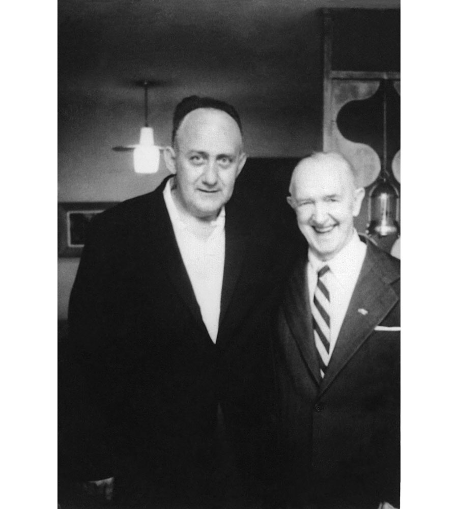 Mike Polacek and Stan Laurel