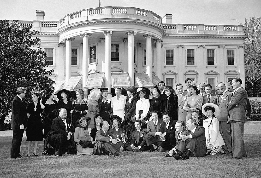 Stan and Ollie at the White House